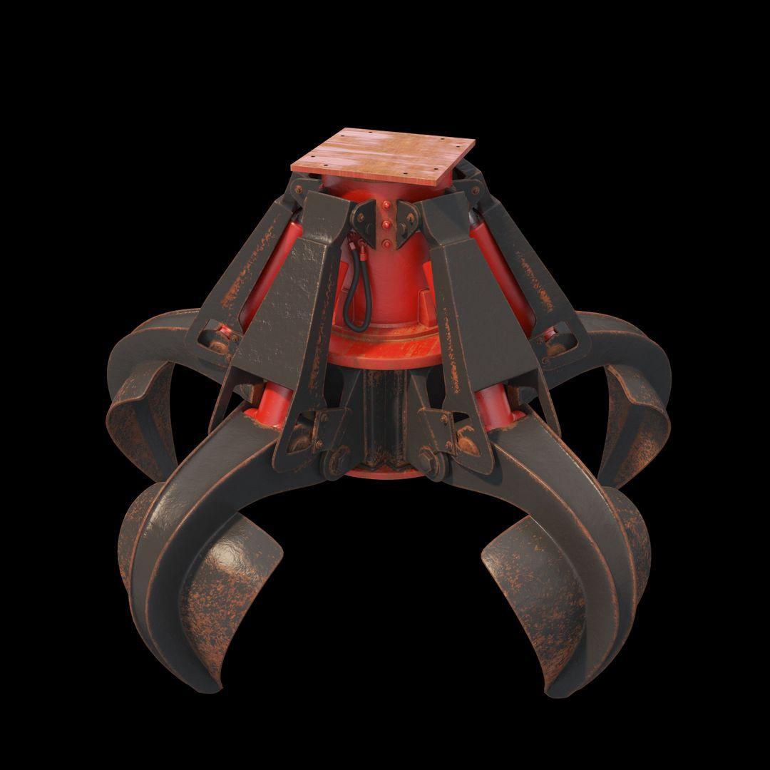 Senior 3D Artist (over 20y xp) ST 37 ROGE&RAKE Claw 01 jpg