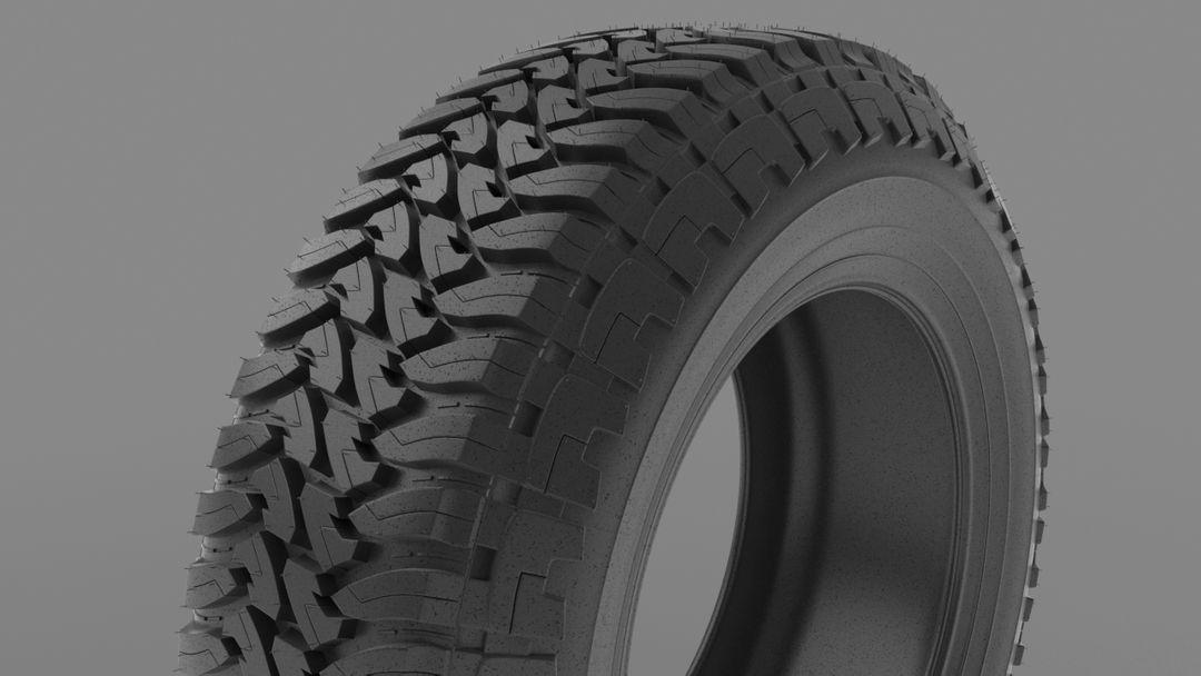 Custom Fenders and Tires Toyo Render02 jpg