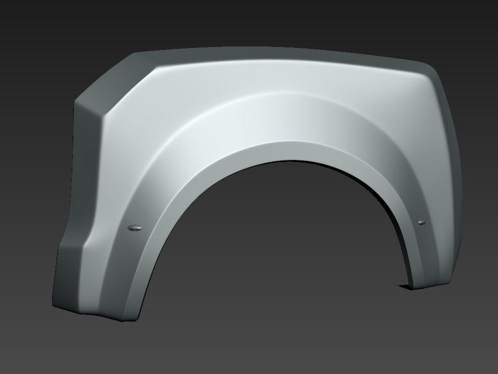 Custom Fenders and Tires Tundra jpg