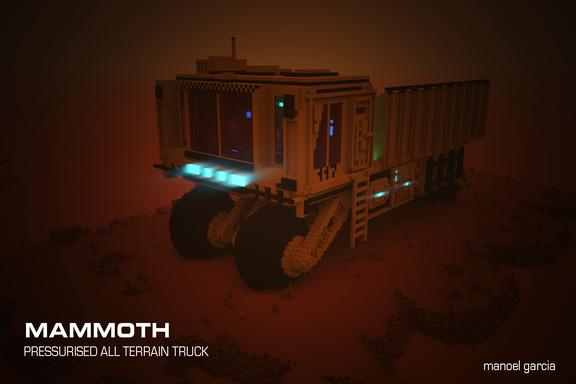 Mammoth Mars Pressurized Truck