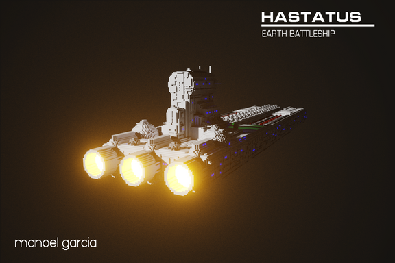 Hastatus - Earth Battleship