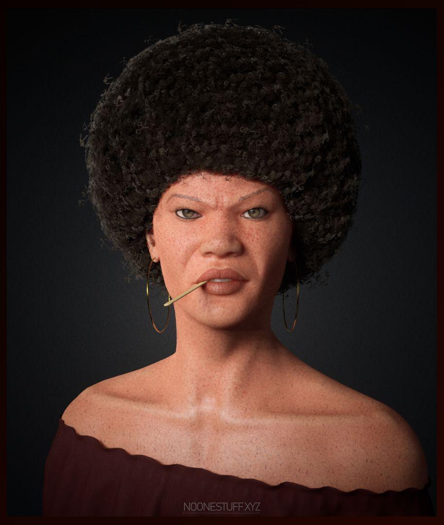 Freckles AfroGirl 1 2mb jpg