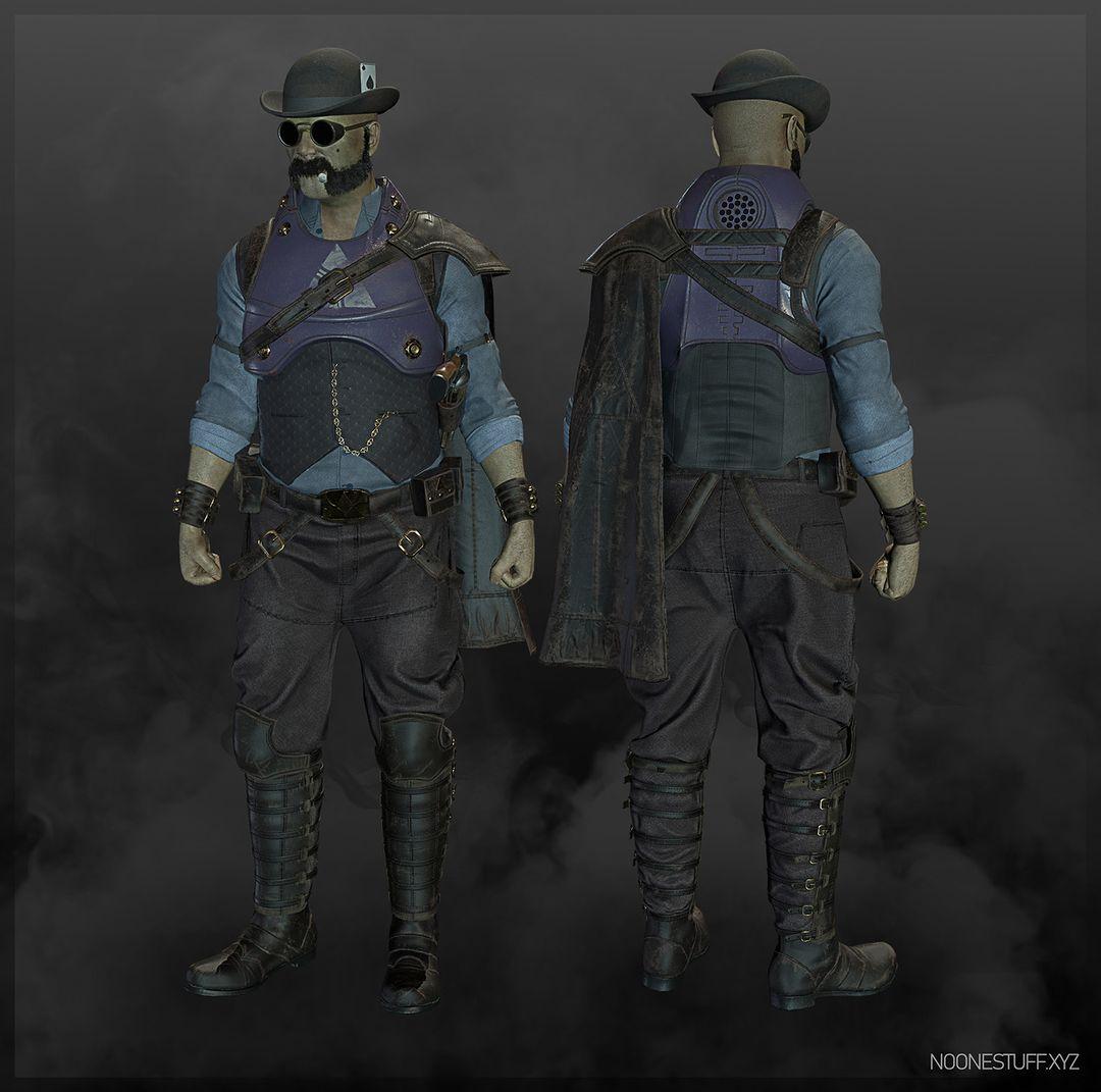 Steampunk Gunslinger Comp 1 low jpg