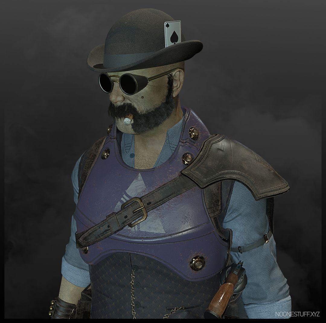 Steampunk Gunslinger Comp 2 jpg