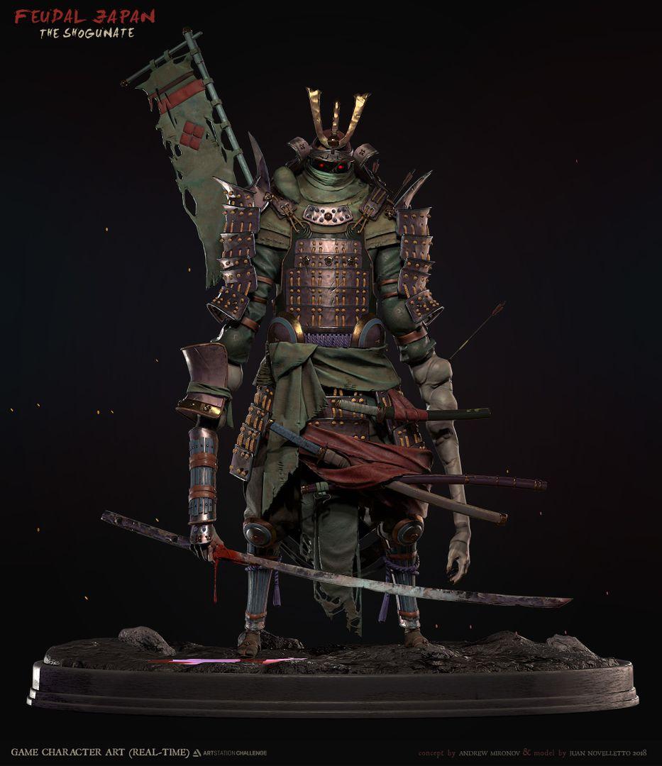 Shogunate Challenge (Game Character) Shogunate 01 jpg