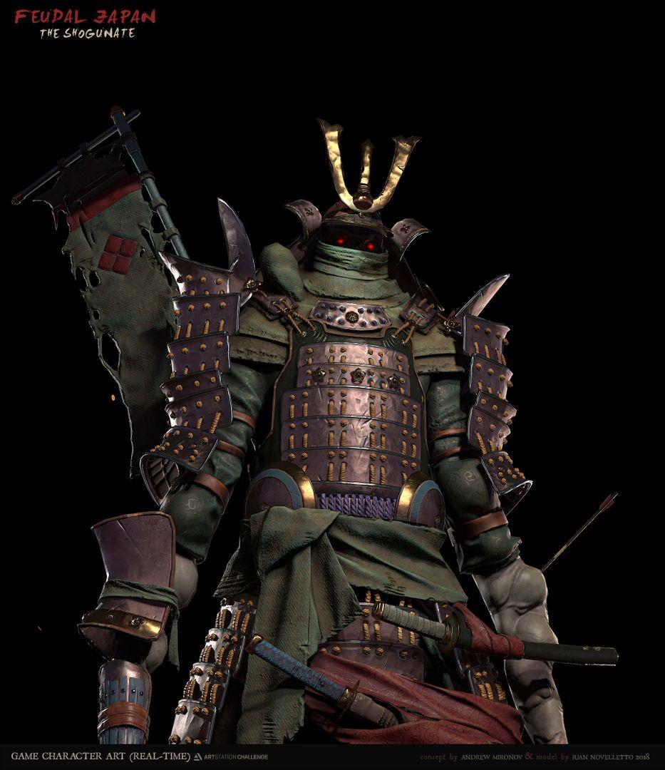 Shogunate Challenge (Game Character) Shogunate 05 jpg