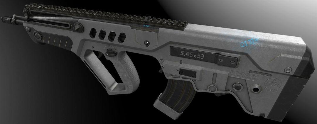 Gun Model #1 paul bannon final render 05 jpg