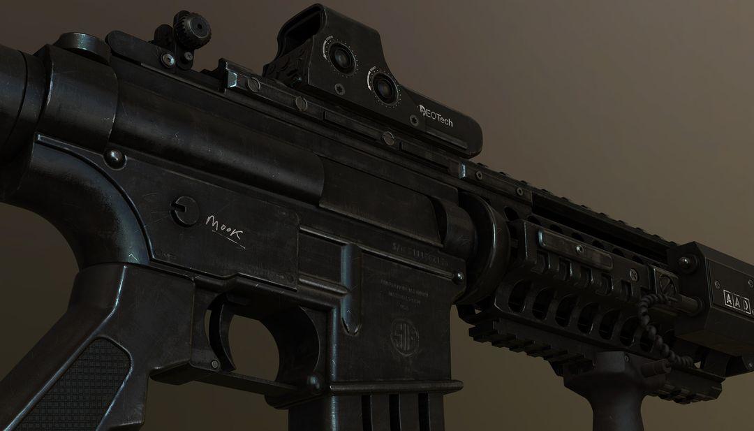 Gun Model #2 paul bannon wip2 jpg