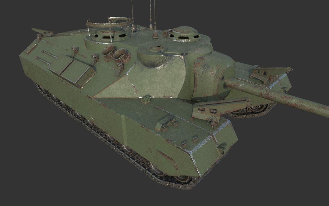 T95 Heavy Tank ciprian gheorghe ponea r3 jpg