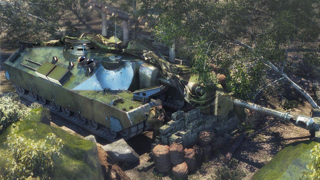 T95 Heavy Tank ciprian gheorghe ponea t95 render jpg