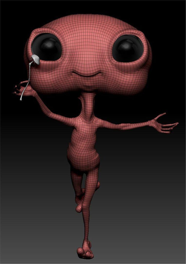 Little Alien Concept ciprian gheorghe ponea 4 jpg