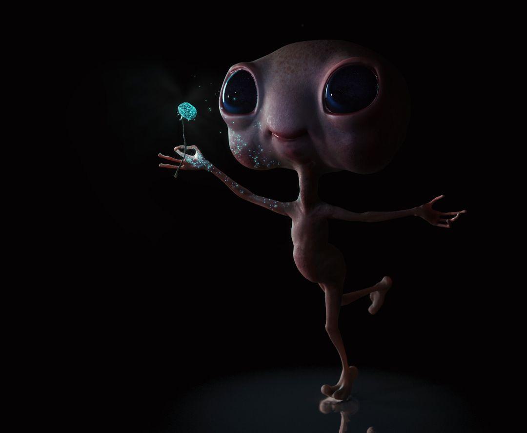 Little Alien Concept ciprian gheorghe ponea artstation jpg