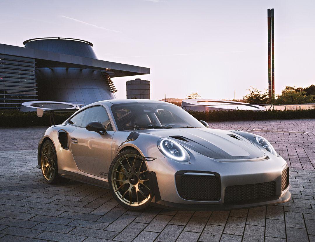 Porsche GT2 RS - Corona Render Porsche GT2 RS 01 jpg