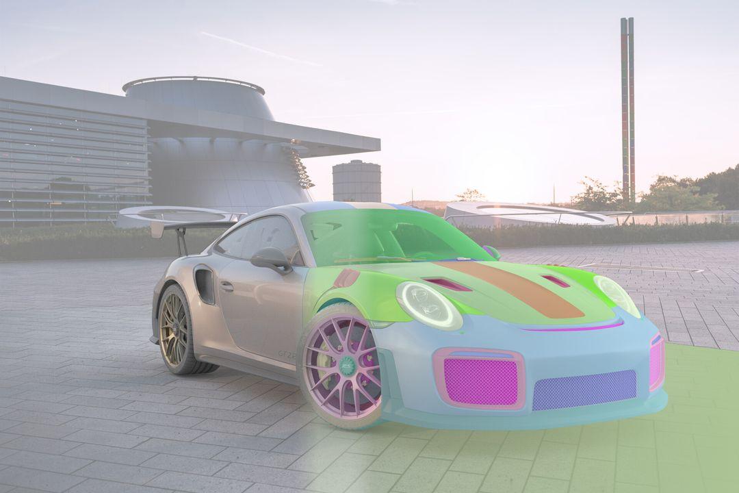 Porsche GT2 RS - Corona Render Porsche GT2 RS 02 jpg