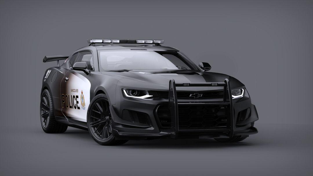 Camaro ZL1 1LE Police Concept police camero 01 jpg