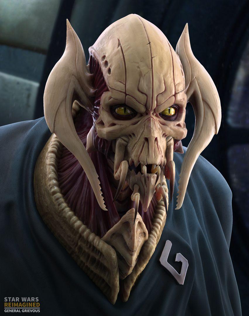 Star Wars Reimagined General Grievous General Grievous 01 jpg