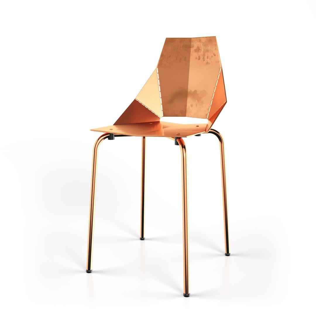 Furniture Copper Real Good Chair jpg