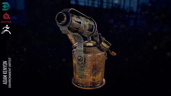 Old butane welder