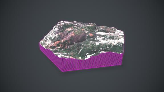Terrain for AR