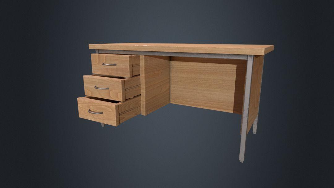 Beech Wood Office Desk jessica couch officetable open jpg