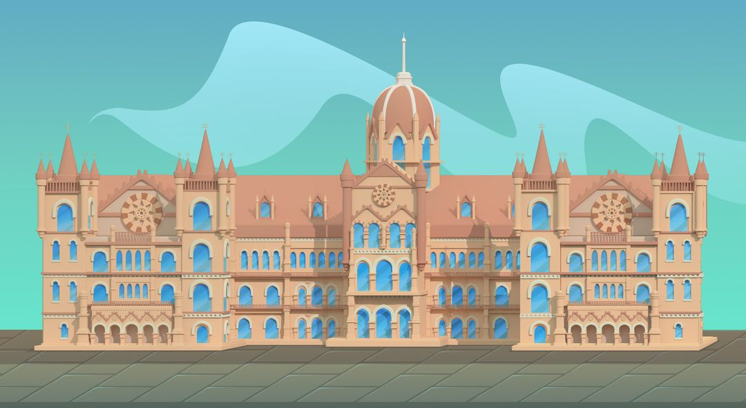 Stylized Environment jessica couch victoria terminus jpg