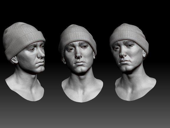 Likeness head modeling