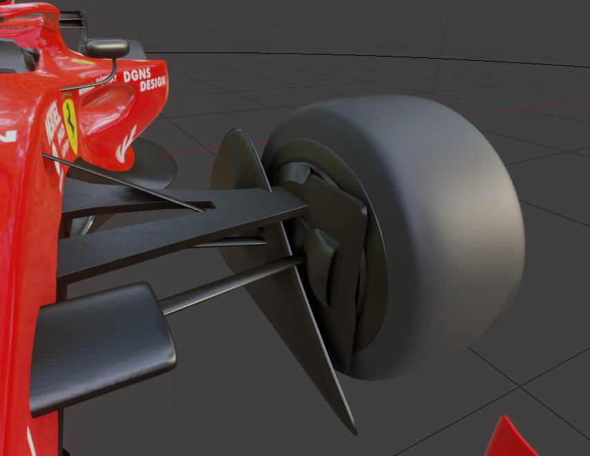 Formula 1 2021 Concept 3D Model