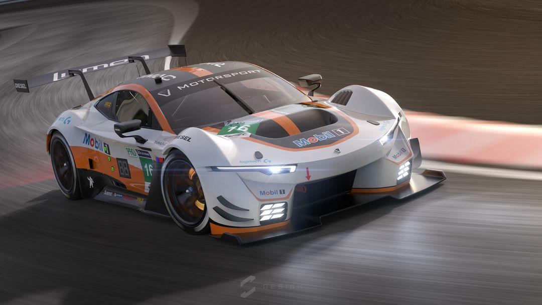 Lumen GTE Concept sebas gomez lumen gte track jpg