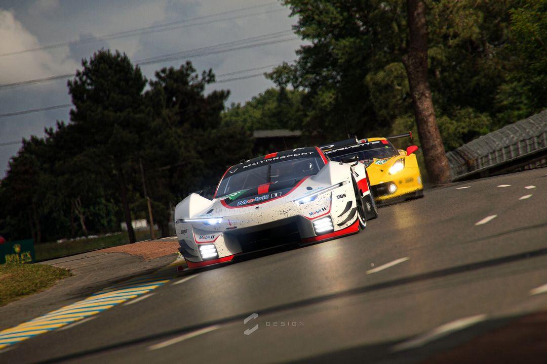 Lumen GTE Concept sebas gomez lumen gte vs corvette jpg
