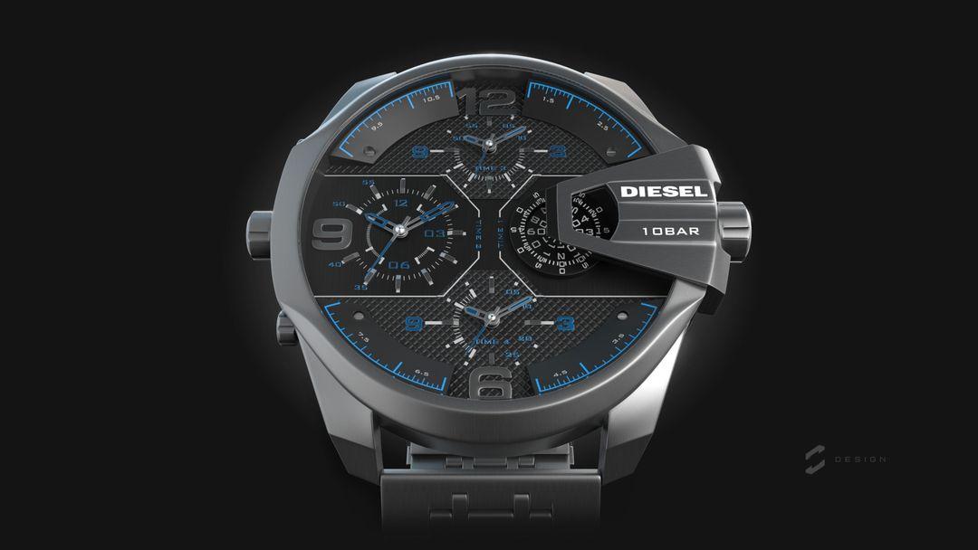 """Diesel Watch """"Uber Cief"""" sebas gomez diesel uber chief 1 jpg"""