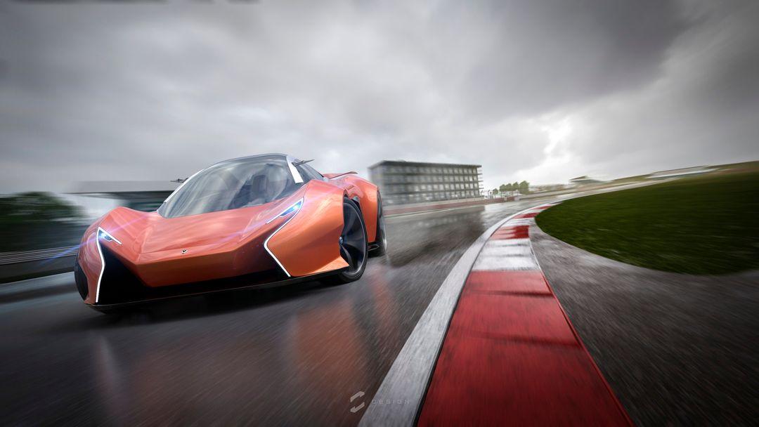 EX1 Concept Supercar sebas gomez ex1 silverstone jpg