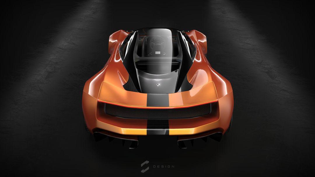 EX1 Concept Supercar sebas gomez ex1 studio orange jpg