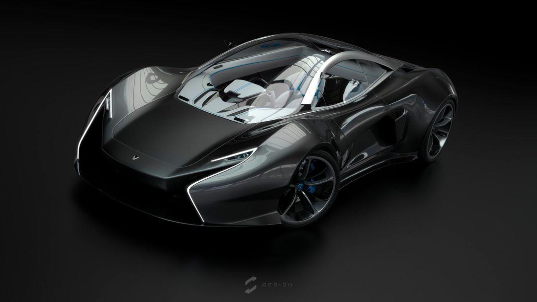 EX1 Concept Supercar sebas gomez ex1 test1 jpg