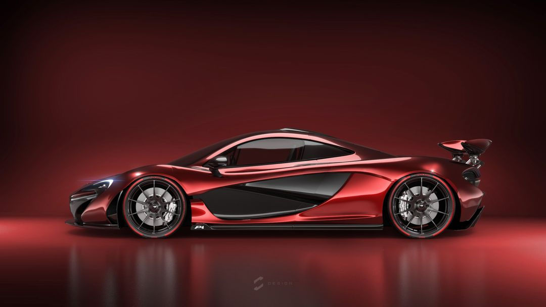 McLaren P1 sebas gomez p1 red on red jpg
