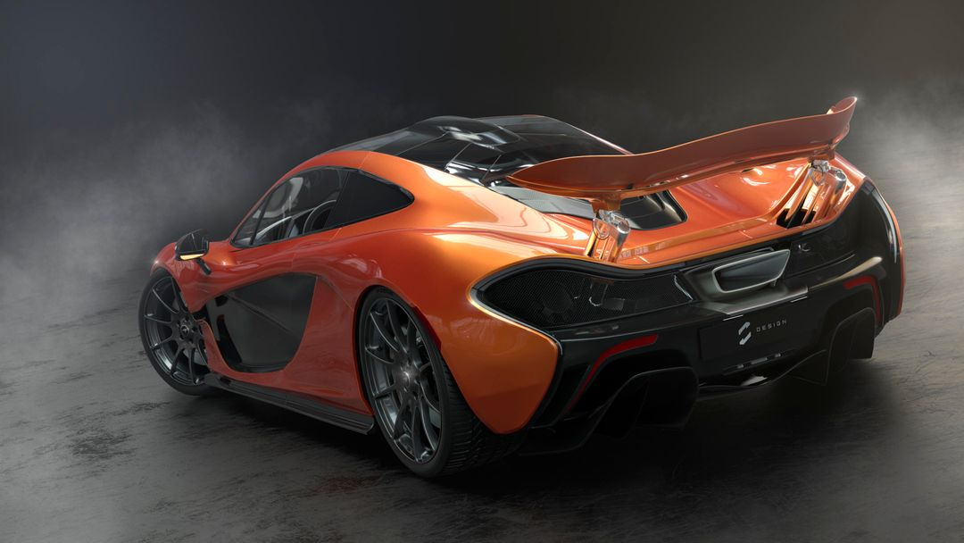McLaren P1 sebas gomez p1 studio orange png 8bit jpg