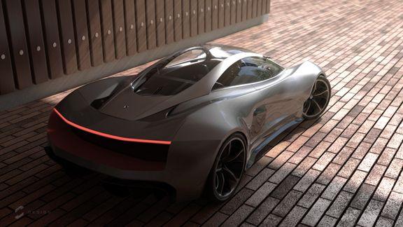 VX5 Concept Supercar