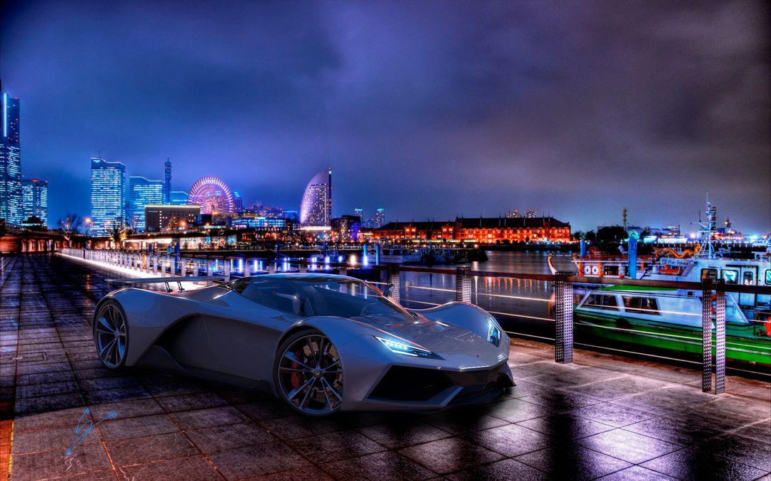 VX5 Concept Supercar sebas gomez vexor 5 bay jpg