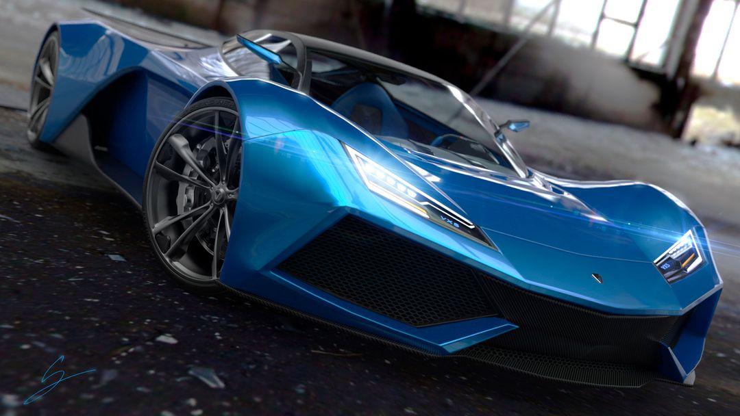 VX5 Concept Supercar sebas gomez vexor 5 shmee jpg