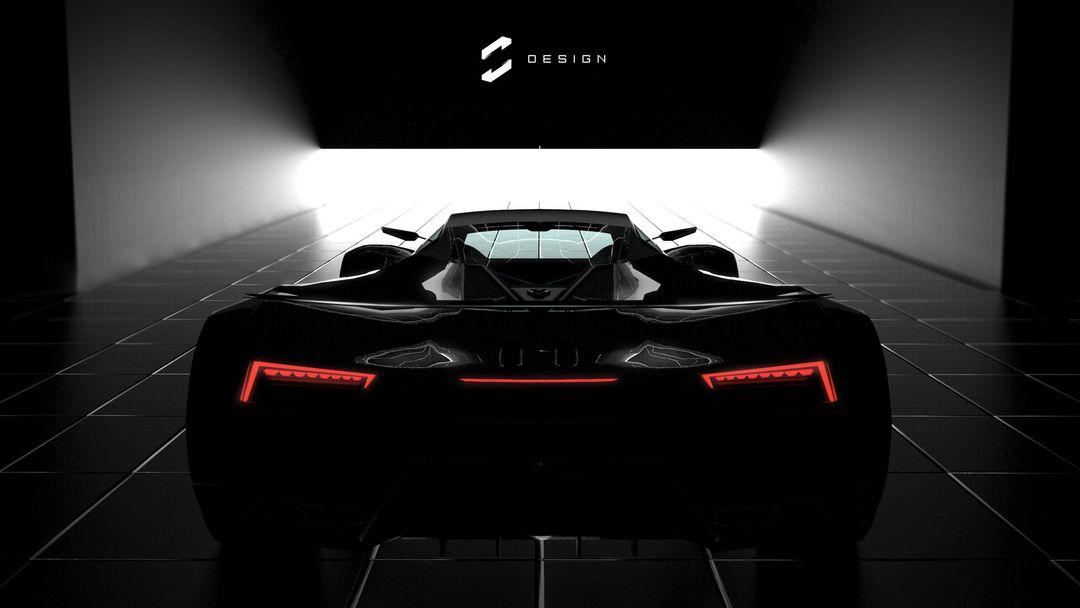 VX5 Concept Supercar sebas gomez vexor 5 studio exit jpg