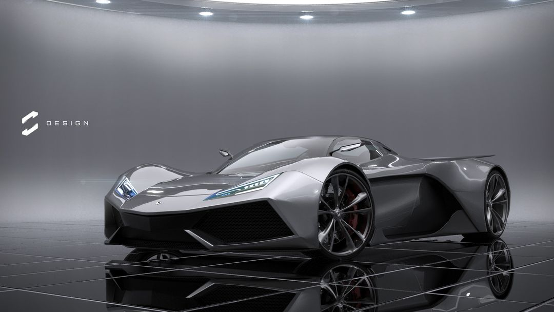 VX5 Concept Supercar sebas gomez vexor 5 studio jpg