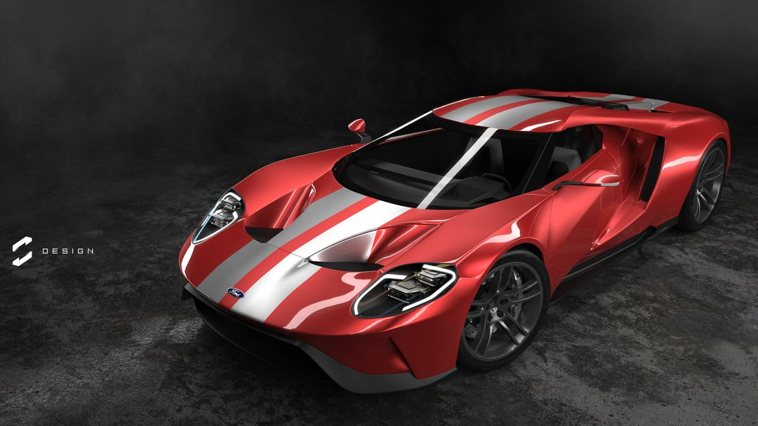 2017 Ford GT sebas gomez ford gt studio red jpg