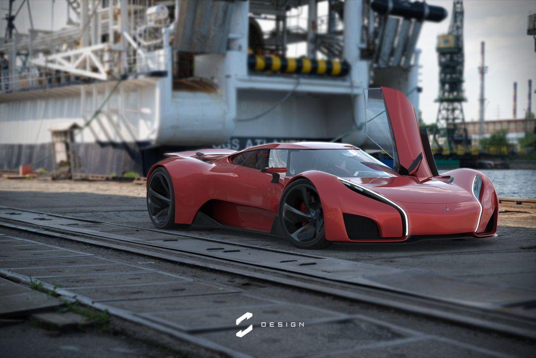XGT Concept Supercar sebas gomez vexor xgt docks jpg