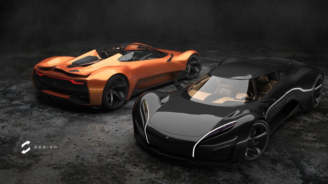 XGT Concept Supercar sebas gomez xgt roadster coupe jpg