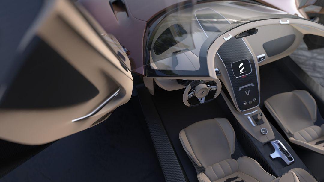 XGT Concept Supercar sebas gomez xgt roadster door dof jpg