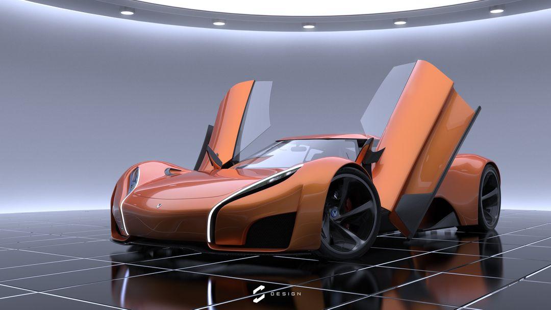 XGT Concept Supercar sebas gomez xgt studio doors jpg