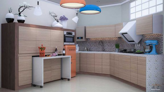 kitchen rendering realistic