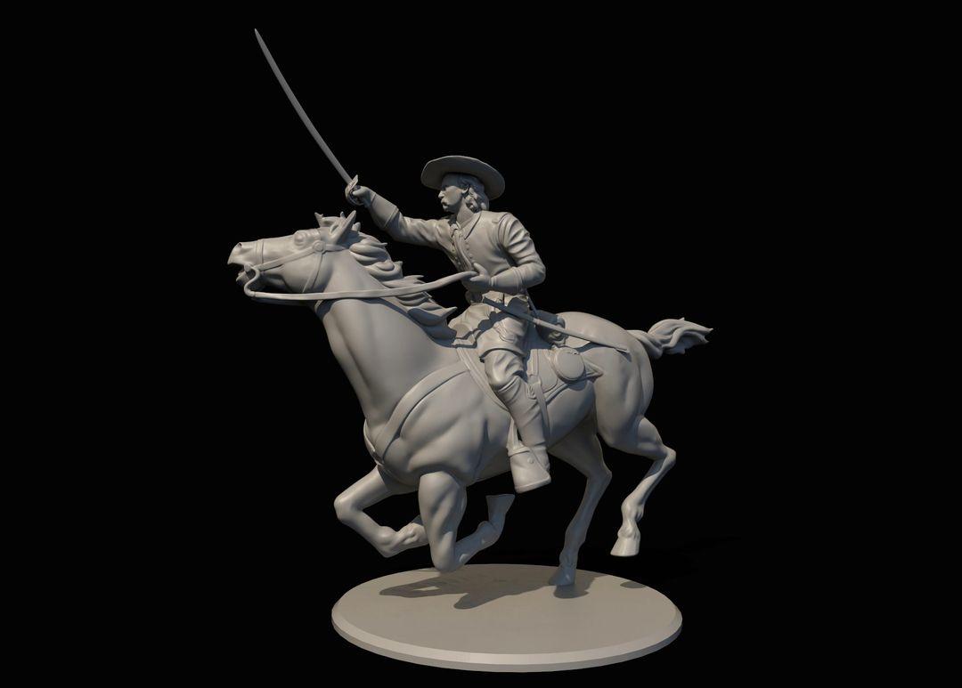 George Armstrong Custer Miniature Custer1 jpg