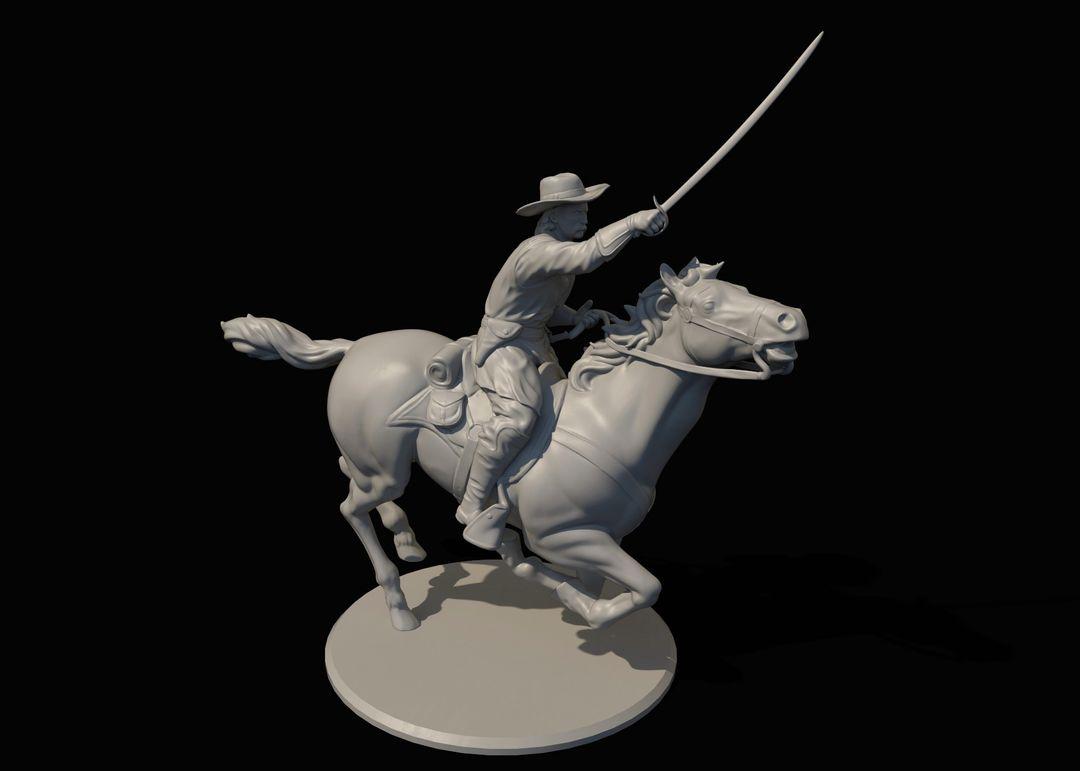 George Armstrong Custer Miniature Custer2 jpg