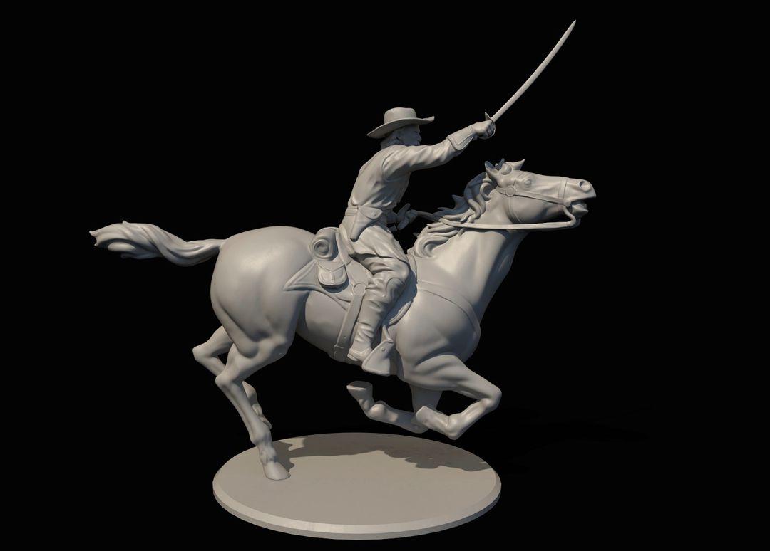 George Armstrong Custer Miniature Custer3 jpg