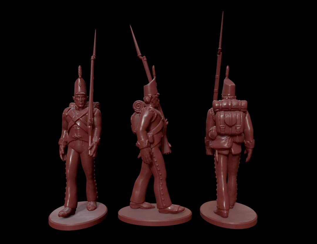 High Elf Infantry Miniatures HighElf1 png